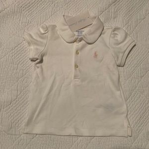 Ralph Lauren Baby Girl Polo Shirt